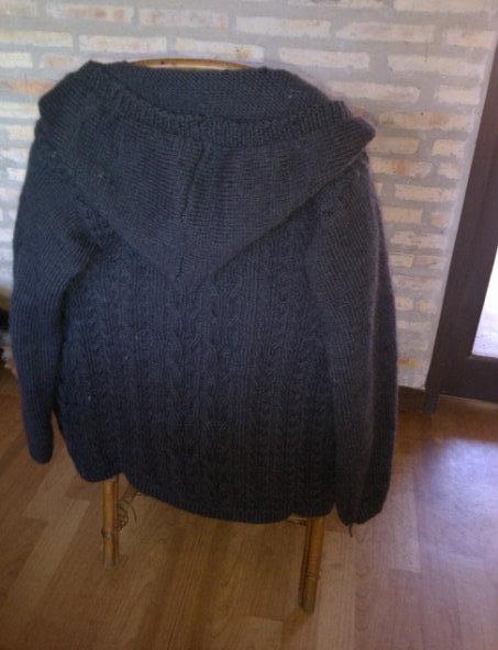 Sacón de lana rústica
