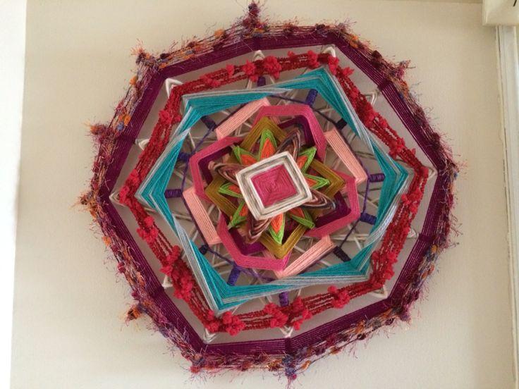 Mandala de lana