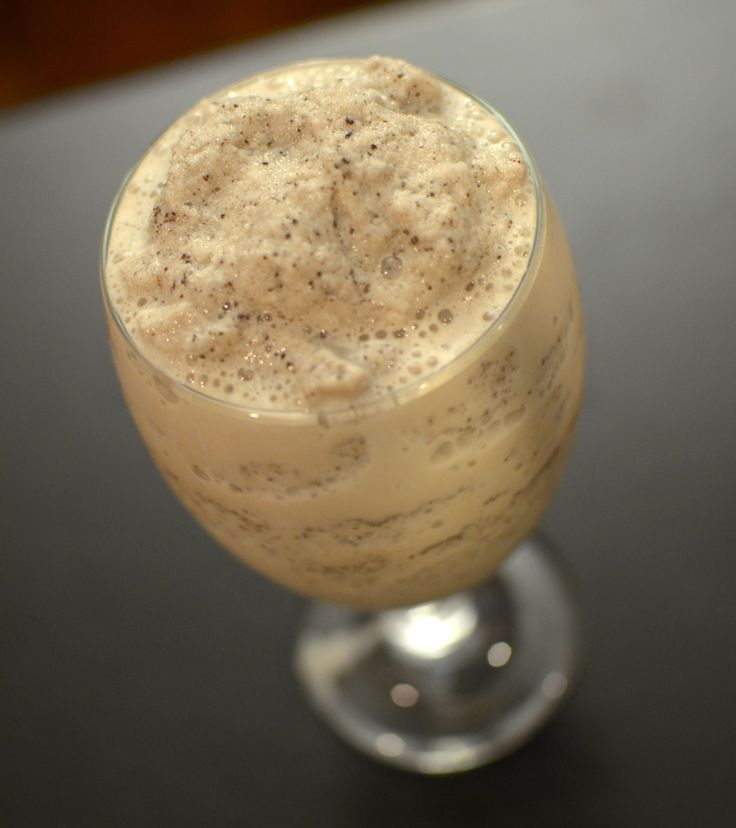 I.  Love.  Cookie Dough.  I could eat an entire batch of raw dough.  Well, pre-THM I would.  Not anymore.  But I do still crave that flavor from time to time.  So, I decided to try to make a shake ...