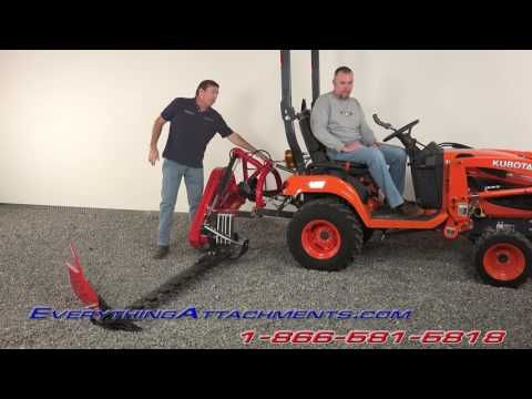 5 Foot Sickle Bar Mower For Subcompact Tractors in 2019 | Projects