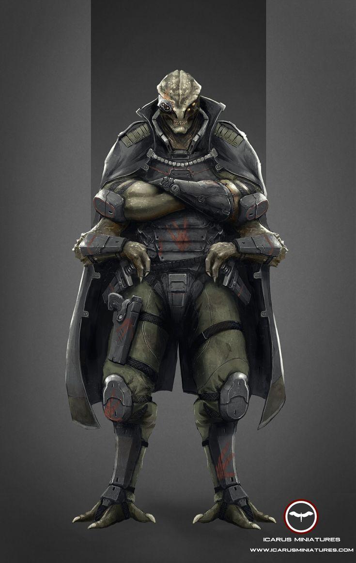 Nexus General Varakos, the Butcher of Aros Learn More: http://icarusminiatures.com/concept-art-preview-nexus-general-varakos/