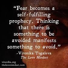 SELF-FULFILLING PROPHECY is a prediction that directly or indirectly causes itself to become true, by the very terms of the prophecy itself, due to positive feedback between belief and behavior.