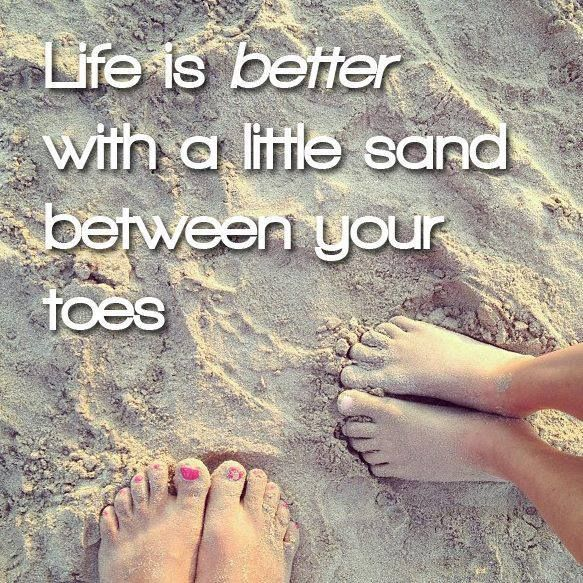 We couldn't agree more at 'Tween Waters Inn! Sand, surf, sunshine, smiles is our motto. Book your stay with us now at: www.tween-waters.com