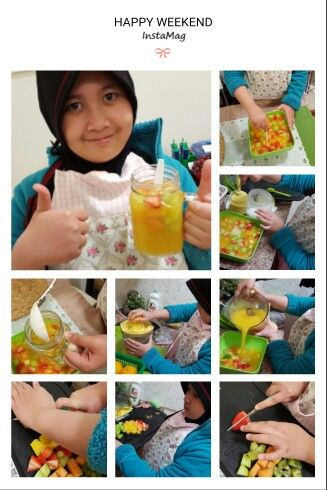 sop buah made by ratu