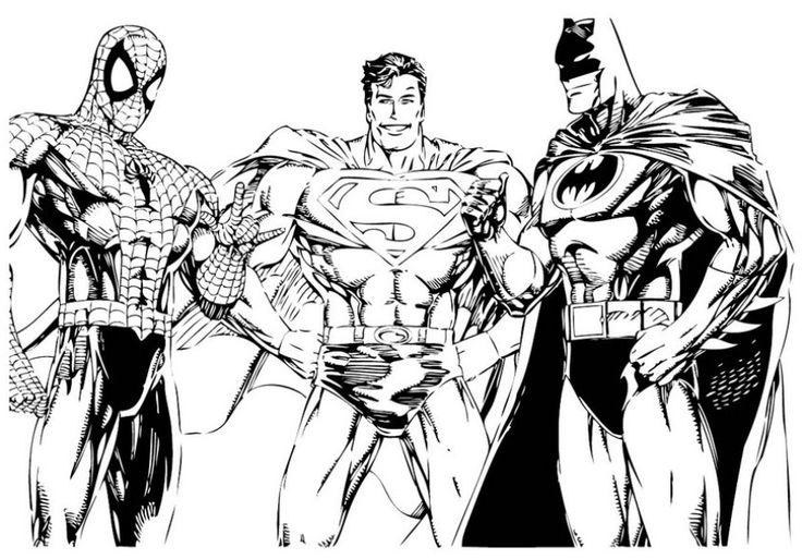 Superhero Squad Iron Man Colouring Pages Spiderman Coloring Batman Coloring Pages Superhero Coloring
