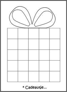 Patroon maken met inpakpapier of gewoon inkleuren