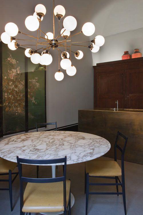 Dimore Studio modern interiors design france spain Sick lighting