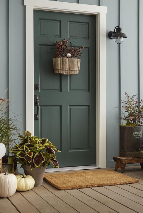 These Vibrant Front Door Colors Will Give Your Home A Pop