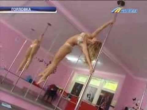 Искусство Танца на шесте Настя Шукторова Pole art - YouTube