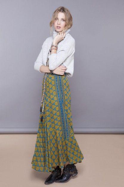 Visitá la nueva colección Invierno 16 en Rapsodia.com > Falda Minina Sari