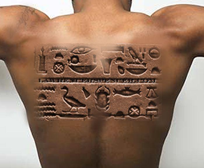 Tattoos Egyptian Love Hieroglyphic