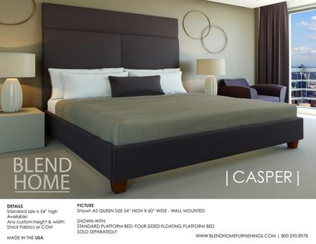 upholstered headboards blend home furnishings custom built furniture furniture wall mounted headboards solid maple