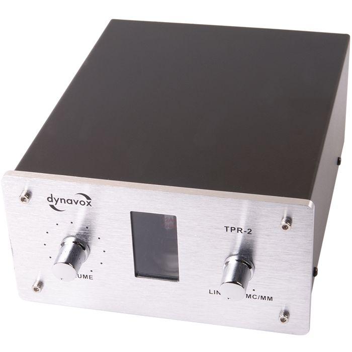 Préamplificateur phono à tube Dynavox TPR-2 Silver (MC/MM)