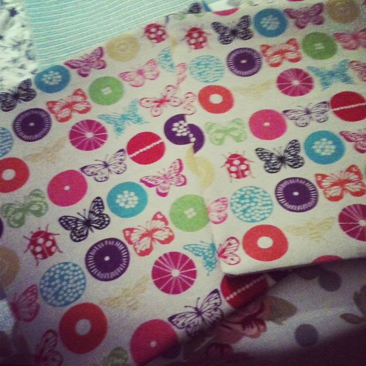Insects and circles Echino Cushion covers made by Vinnie & Bea :)