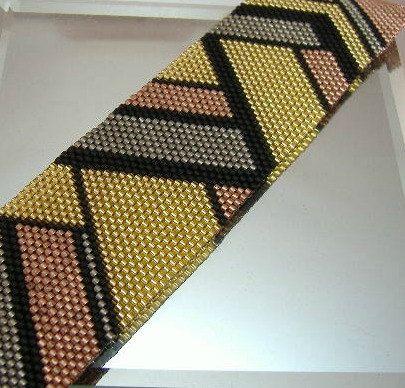 Métaux mixtes motif Bracelet Art déco