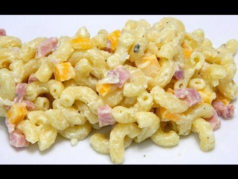 Puerto Rican style Macaroni Salad Ensalada de Coditos - YouTube