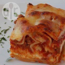 Photo recette : Les vraies lasagnes