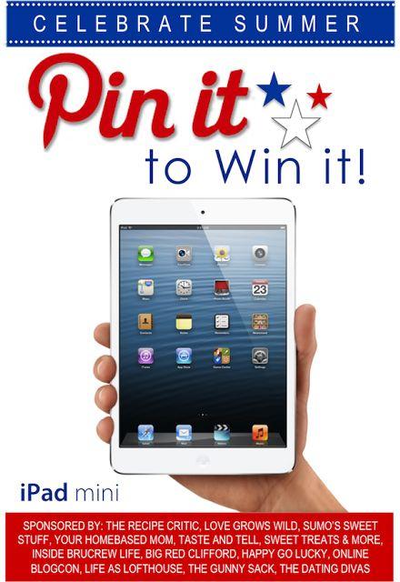 Pin it to Win it: iPad mini edition | The Recipe Critic