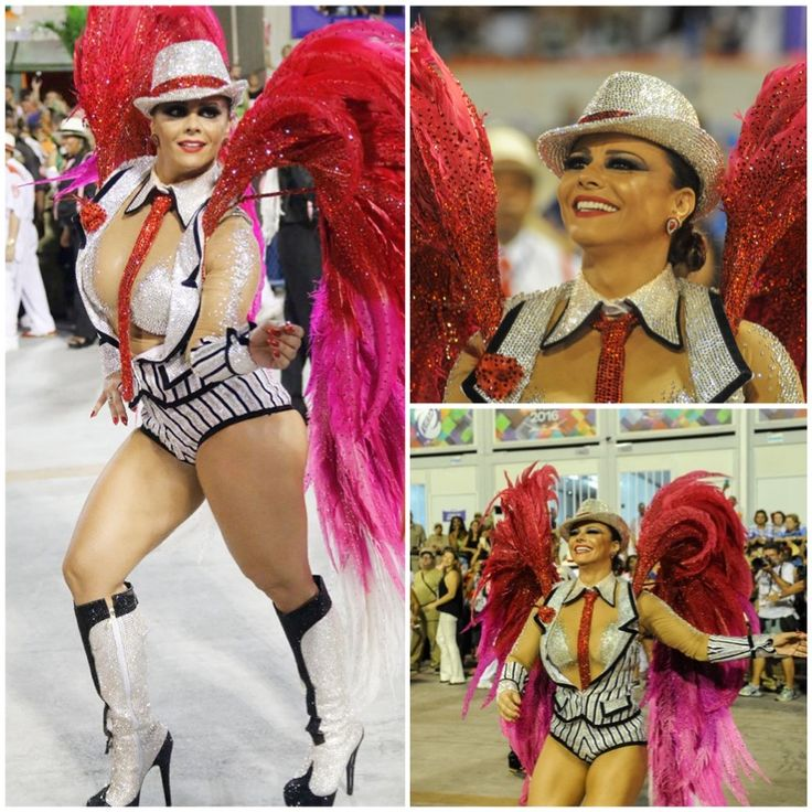 Viviane Araujo rainha de Bateria Salgueiro Carnaval 2016 | It Yourself