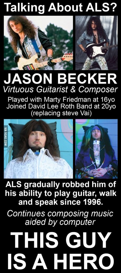 Never mind Ice Bucket Challenge. Check out Jason Becker
