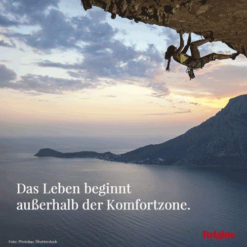 Das Leben beginnt außerhalb der Komfortzone. - Life begins outside of your comfort zone.  #wasistasea #aseaislife