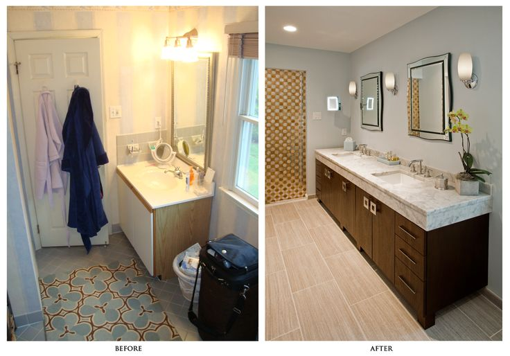 28 best images about before after remodels on pinterest - Bathroom remodel before and after ...
