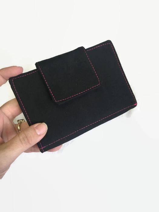 Credit Card Holder Credit Card Wallet Black Card Organizer