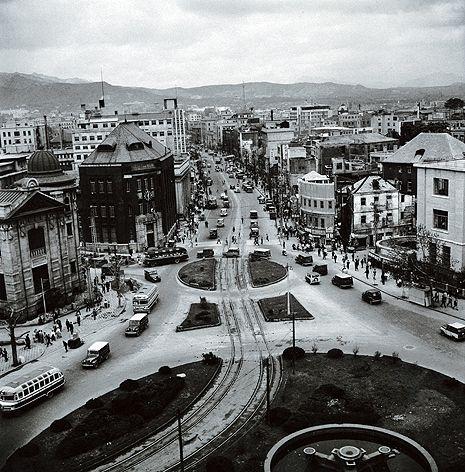 Myung dong. Korea 1960's