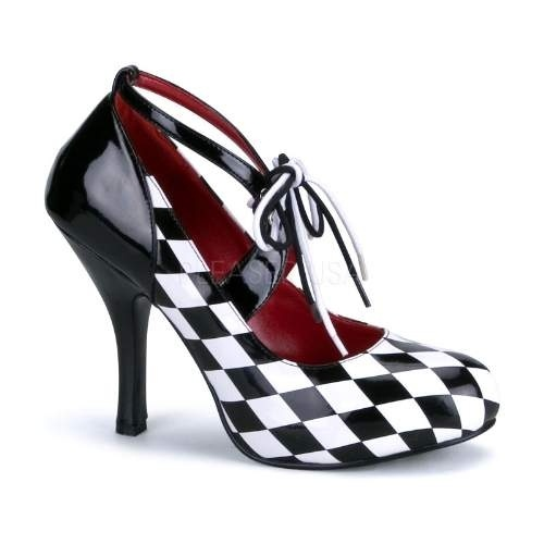 Stunning checkerboard design shoes available from www.funkyfings.com