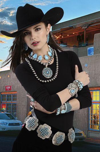 Native American Jewelry From Samsville Gallery In Santa Fe
