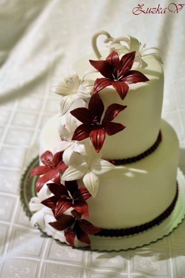 Svadobná - ľalie, Inšpirácie na originálne torty svadobné