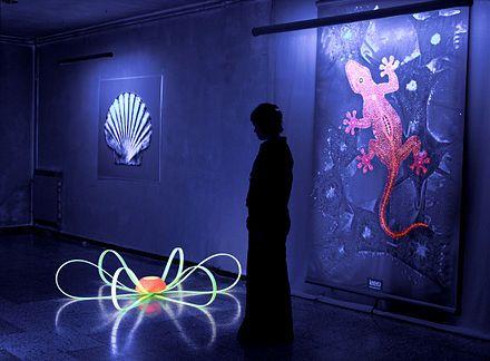 Luminous/Glow in the Dark Paint - Wikipedia, the free encyclopedia