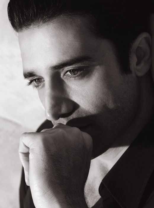 Gilles Marini (1976) - French actor. Photo by Alan Mercer