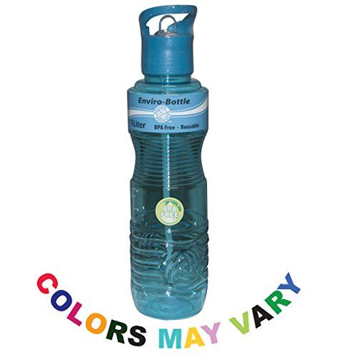 new wave 1 liter water bottles colors vary amazon top rated sports water bottle
