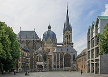 800 Carolingian Aachen Imperial Cathedral