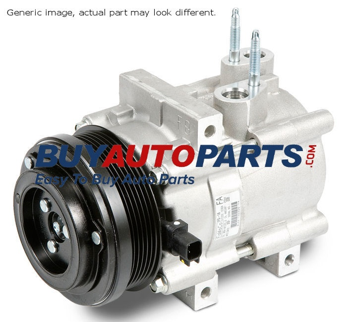 At Buy Auto Parts we provide you with the genuine OEM replacement part for your vehicle A/C compressor. You will find them in good quality as they all undergo a strict quality control process.