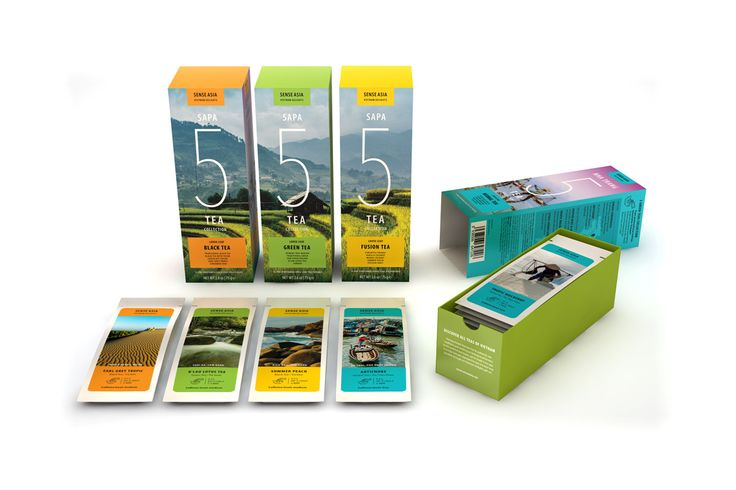 Vietnam Delight 5 tea collection! 5 black tea box - 5 green tea box - 5 fusion tea box - 5 herbal tea box!! #tea #Vietnam #senseasia #gift