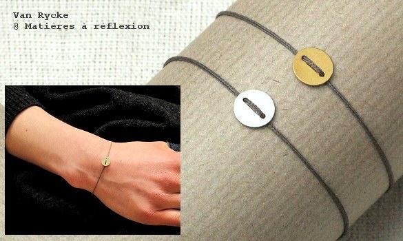 Bracelet Vanrycke argent