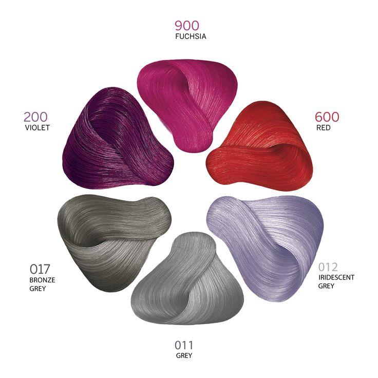 Revlon Professional Revlonissimo NMT Color Palette Pure Colors.