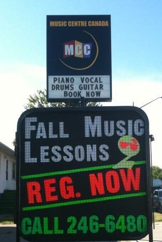 iconic Calgary Music School and Retail Instrument Store for sale! Contact us for details