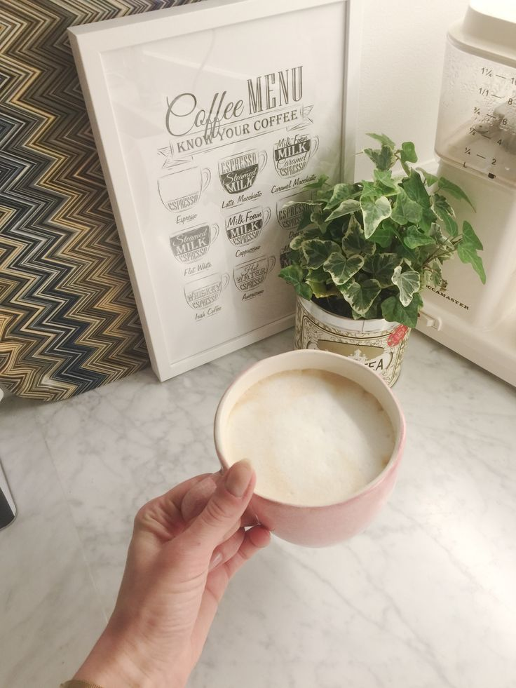Coffee menu ☕️