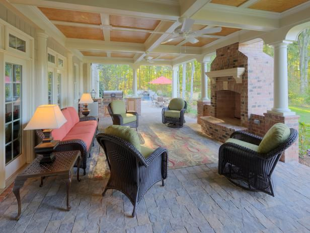 Love this patio!  Take advantage of the space under your deck if you can.