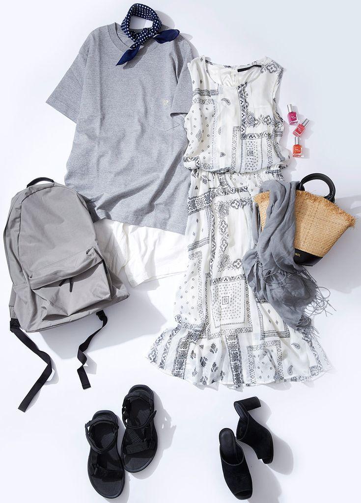今週のレッスン:夏のショートトリップ着こなし術(ルミネ有楽町)   LUMINE MAGAZINE