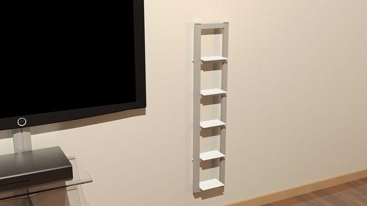 Mecano | Arredo e strutture in alluminio su misura | SISTEMI TV E HI-FI