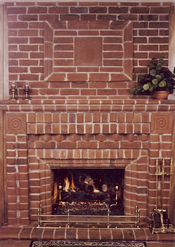 Fireplace Design fireplace drawing : 7 best Handmade Brick Fireplaces images on Pinterest