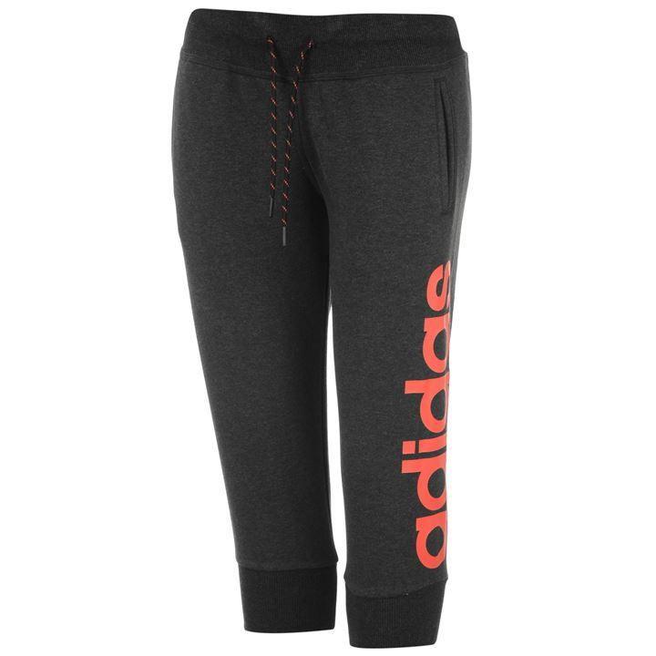 adidas | adidas Linear Three Quarter Length Pants Womens | Womens Jogging  Bottoms