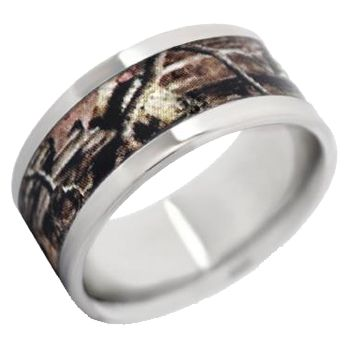 Camo Wedding Band For Gabe Mens BandsCamo
