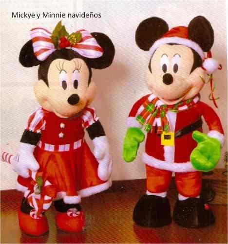Patrón para elaborar Bella Pareja Mickey