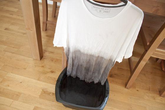LLYMLRS // UK Style and Fashion Blog: Galaxy Essential Upgrades: How to DIY dip dye clothing