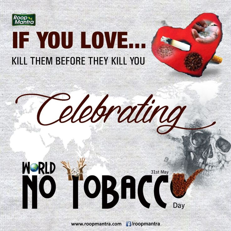 On #WorldNoTobaccoDay, let us pledge to create more awareness about health hazards caused by smoking to save lives.  तम्बाखू को जिसने गले लगाया !  मौत को उसने पास बुलाया !!  जागरूक रहें , स्वस्थ रहें - #RoopMantra  #SaveLife Share With Everyone. #RoopMantra 24X7 Helpline 0171-3055111 | www.roopmantra.com